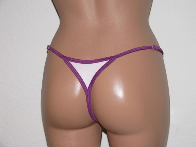 Back view of thong